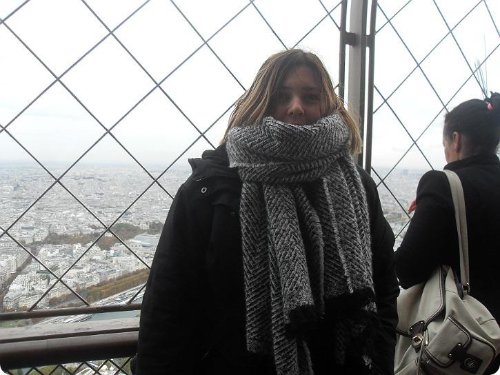 Øverst oppe - Eiffeltårnet, Paris
