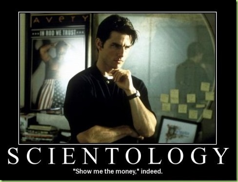 scientology show me the money