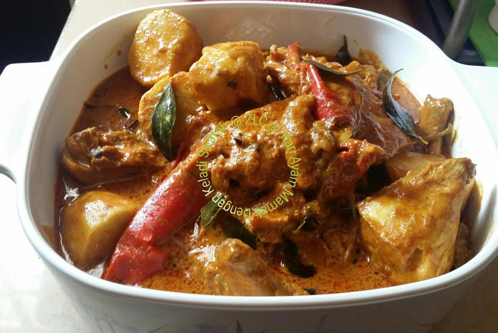 ZULFAZA LOVES COOKING: Kari Ayam (Indian style)