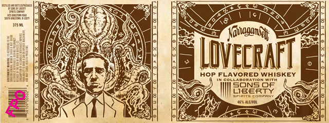 Narragansett & Sons Of Liberty Spirits Collaborate On Lovecraft Hop Flavored Whiskey