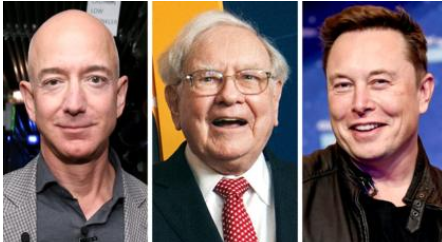 New report claims Billionaires Jeff Bezos, Elon Musk, Michael Bloomberg, paid very little in income taxes
