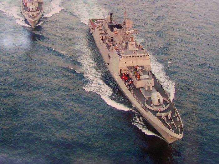 INS Talwar - F40 - Missile Frigate - Indian Navy - 02-TN