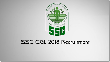 SSCCGL 2018 Recruitment Notifications