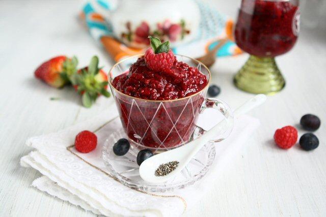 Berry Chia Pudding