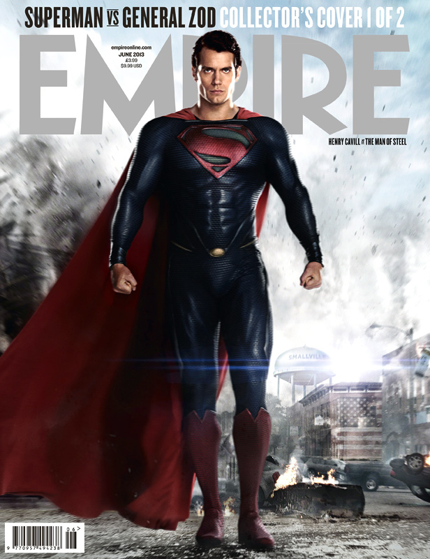 man of steel superman empire cover