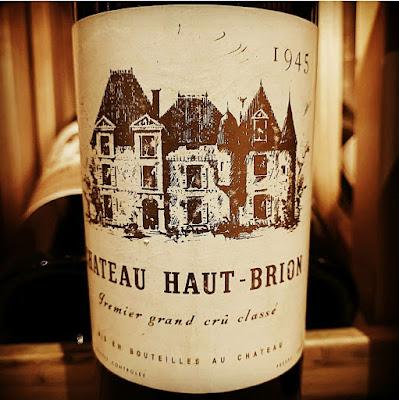Chateau Haut-Brion 1945  label shot by ©LeDomduVin 2020