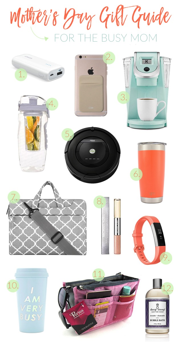 Mothers Day Gift Guide for busy moms and moms and the go