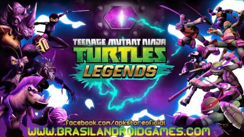 As Tartarugas Ninja: Lendas APK para Android