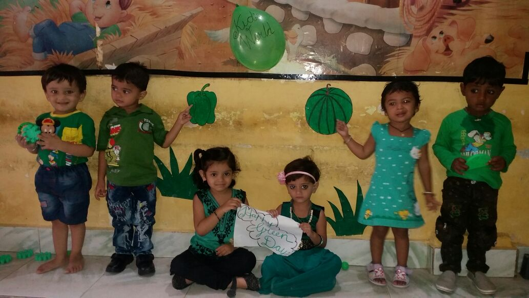 Kids World Green Day Celebration