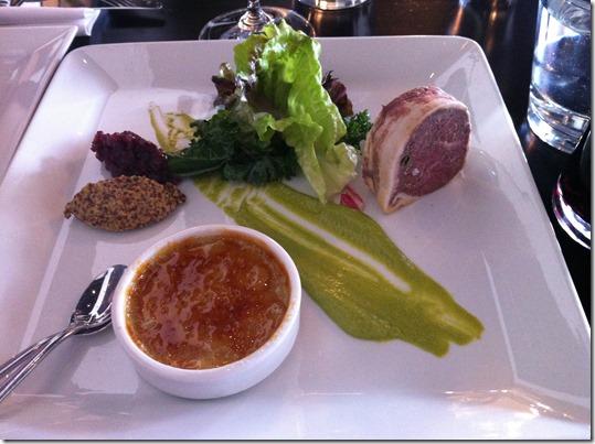 Dinner at La Brasserie 6