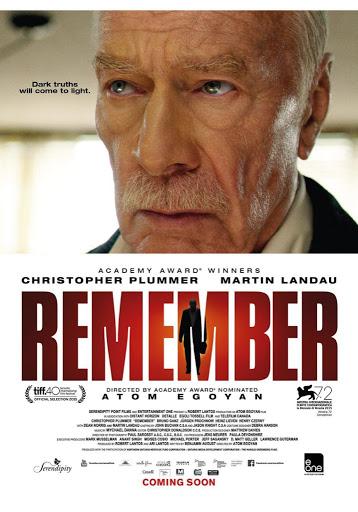 Γράμμα από το παρελθόν (Remember) Poster
