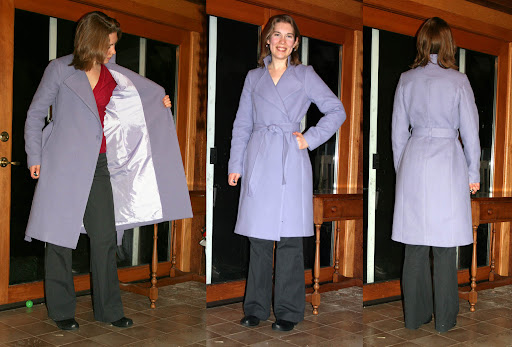 Style Arc Stella Coat (Italian Doublefaced cotton twill)