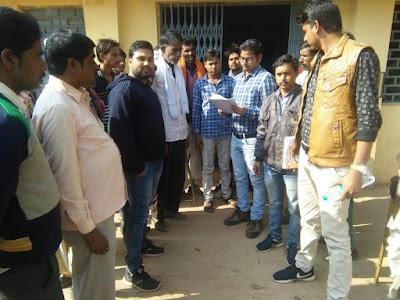 बड़ी खबर पचीपुरा सिंचाई परियोजना मैं हुए भ्रष्टाचार को लेकर भूक हड़ताल पर बैठे किसान