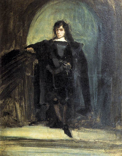 Eugène Delacroix - Self-Portrait as Ravenswood