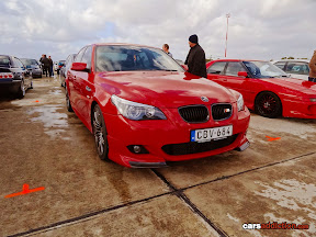 Red BMW M5