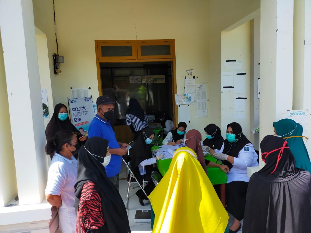 Kantor Kelurahan Macanre Kecamatan Lilirilau Melaksanakan Vaksin Covid -19 Gelombang Ke Dua