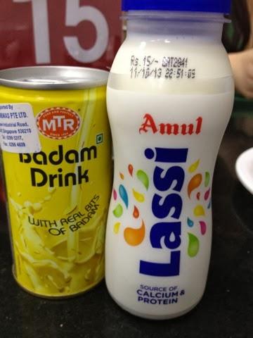 MTR 1924, lassi badam milk