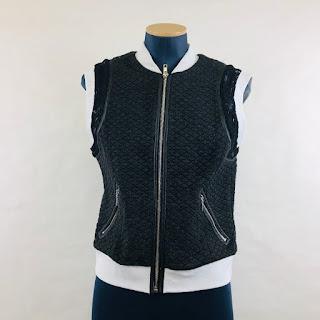 *SALE* Rebecca Taylor Zip Front Vest
