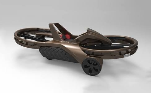 Aero x hoverbike