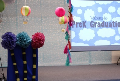 """Oh, The Places You'll Go"" themed PreK Graduation"