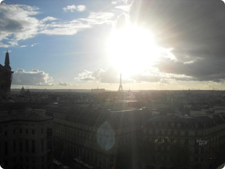 Fra toppen af Paris