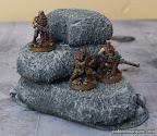 foto Monticulo de rocas