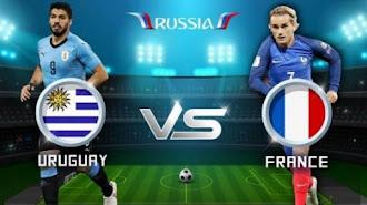 Jungkalkan Uruguay,Perancis Masuk Semifinal Piala Dunia 2018