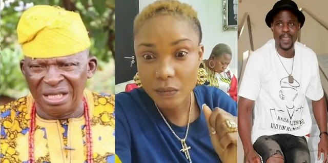 Iyabo Ojo reacts to actor, Olafa Ina's claims that she was rude to him over Baba Ijesha's case [Video]