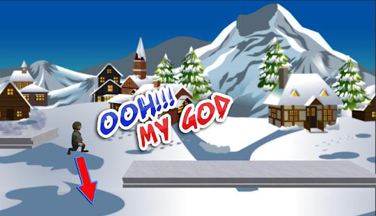 Sníh Zlato Běh N Skok - náhled