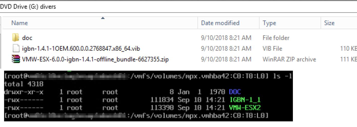 ESXI 4.1 IGB WINDOWS DRIVER