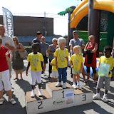 Podium du jogging junior: les 3-4 ans