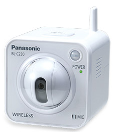 SimpleRNA: Panasonic BL-C230 IP Camera Price $150