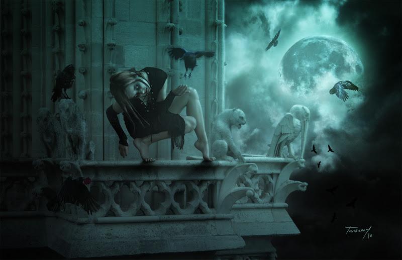 Vampire Girl On The Roof, Vampire Girls 1