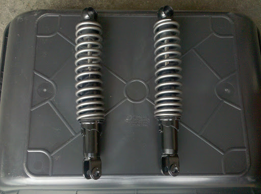 Completed rear shocks
