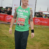 OIC - ENTSIMAGES.COM - Iwan thomas at the Virgin London Marathon 2015 in London 26th April 2015  Photo Mobis Photos/OIC 0203 174 1069