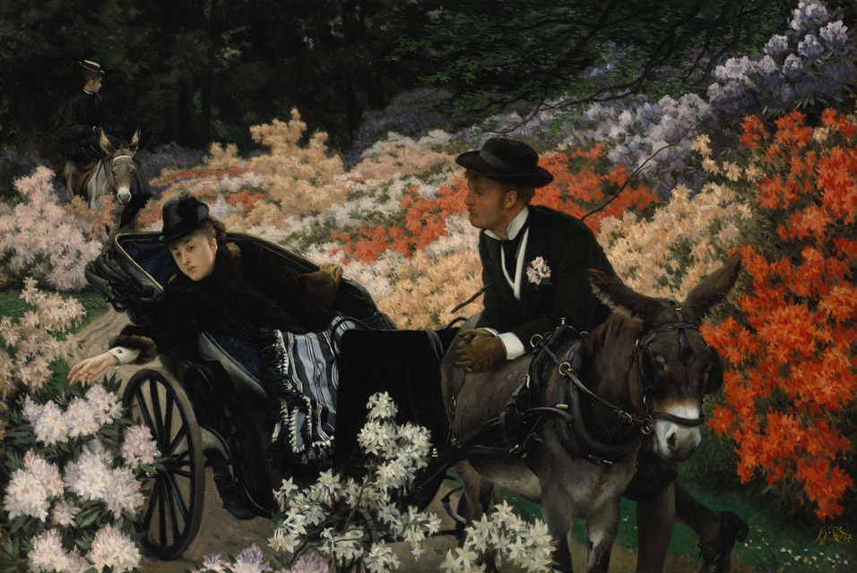 James Tissot - The Morning Ride