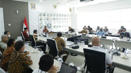Kementerian Kelautan dan Perikanan RI Ajak Pemprov Sumbar Kembangkan Potensi  Udang