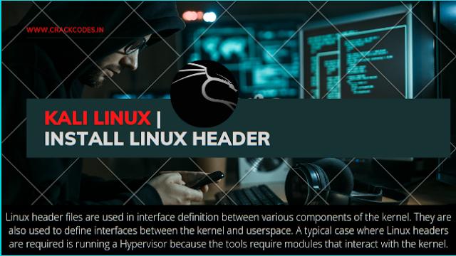Install Linux Header