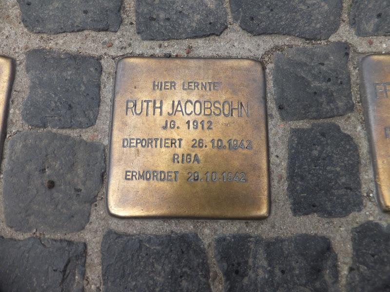Stolpersteine, memorias de la Shoah, Berlín