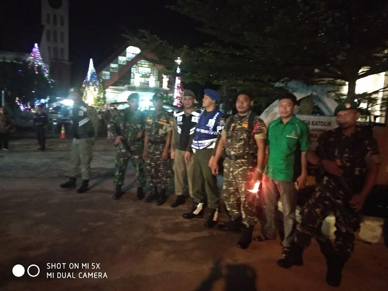 GP Ansor Kabupaten Ketapang Bantu Amankan Misa Natal