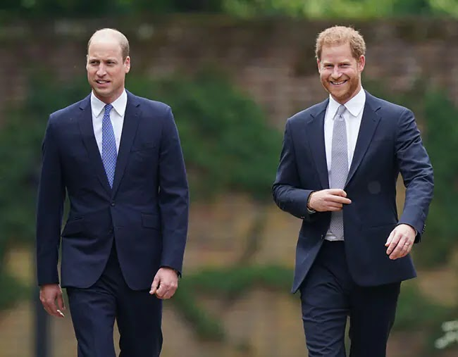 Princess Diana's Statue unveiling: Harry and William Reunite and Family Tributes