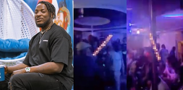 Singer, Peruzzi Angrily Walks Out Of A Club After Being Asked To Apologize For Coming Late In Osogbo [VIDEO]