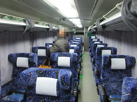 JRバス東北「ラ・フォーレ号」 H674-11404 車内
