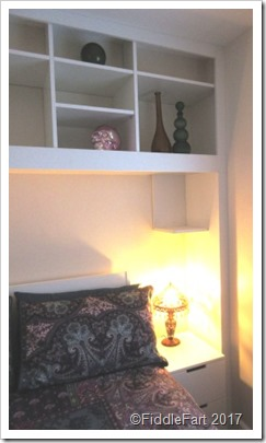 New bedroom shelving