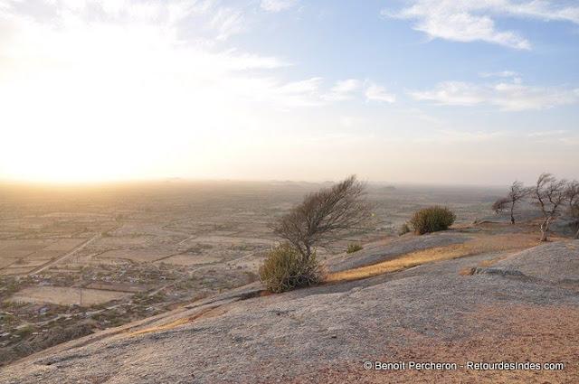 Vu sur les monts Aravalli, Narlai, Rajasthan
