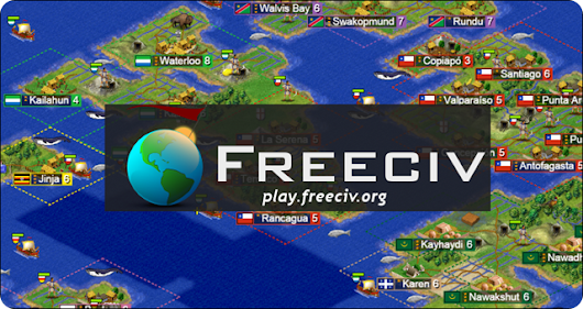 How to play FreeCiv open source strategy game: Overview of the Game | Linux & The Planet Games