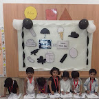 Black and White Day Celebrated by Playgroup - Evening Section at Witty World, Chikoowadi (2017-18)