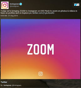 How To Zoom Out Instagram Multiple Pictures