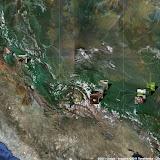 Localisation des photos au Pérou - topographie