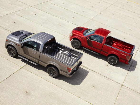 2014 Ford F-150 Tremor - Rear Angle Top